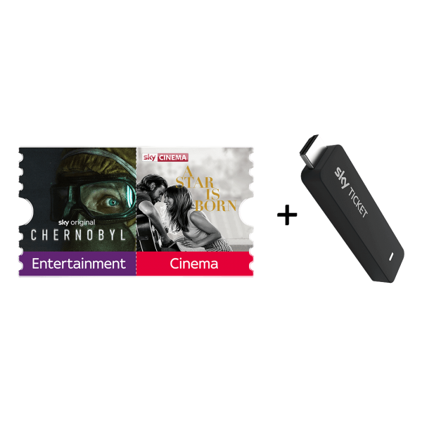 Ticket inklusive 2 Monate Fiction TV Stick