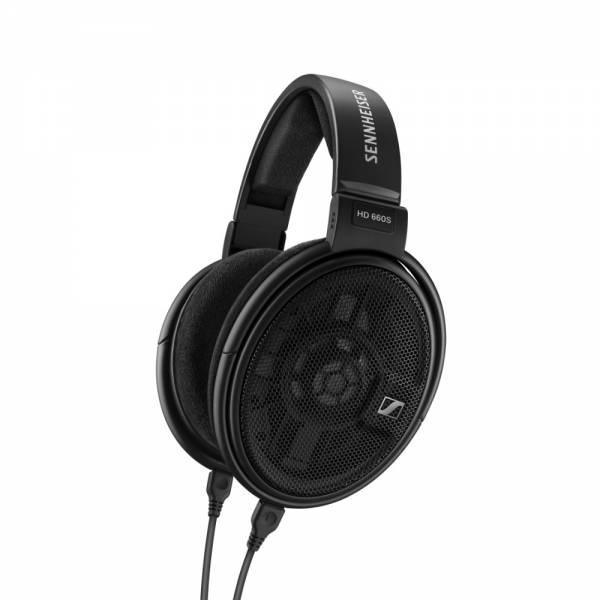 Sennheiser HD 660S Bügelkopfhörer Schwarz Abgewinkeltc