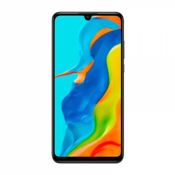 Huawei Smartphone Schwarz Front (P30 lite New Edition)