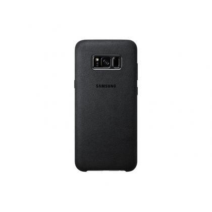 EF-XG955 Alcantara-Cover Galaxy S8+ grau