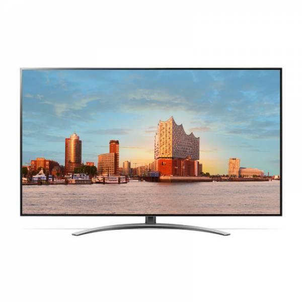 LG Fernseher Front Schwarz (49SM90007)