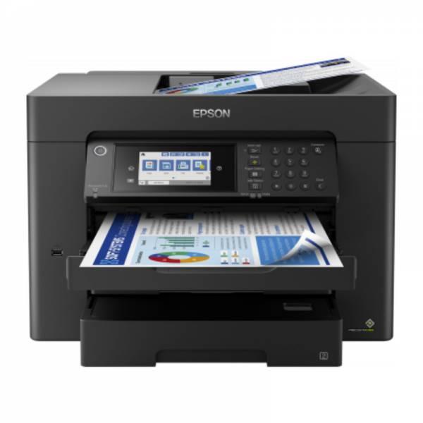 Epson Multifunktionsdrucker Schwarz (WorkForce WF-7840DTWF)