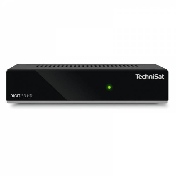 Technisat Sat-Receiver Front Schwarz (Digit S3 HD)