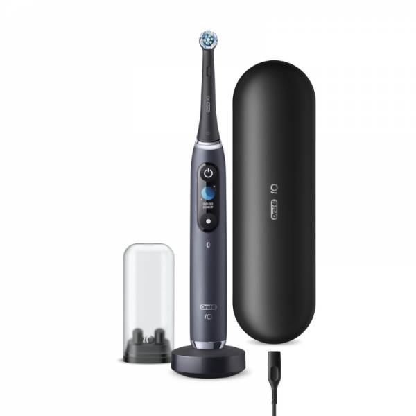 Braun Zahnbürste Set (Oral-B IO Series 9N Black Onyx)