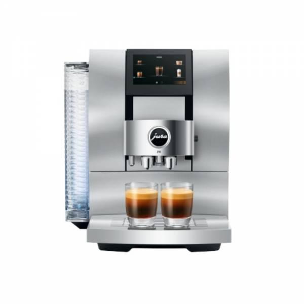 Jura Z10 Aluminium White (EA) Kaffeevollautomat Front