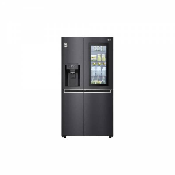 LG GSX961MCCE Kühl-Gefrier-Kombination InstaView Angeschaltet