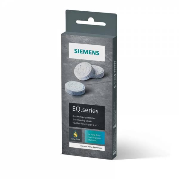 Siemens Kaffeeautomat EQ Reinigungstabletten Front Packung (TZ80001A)
