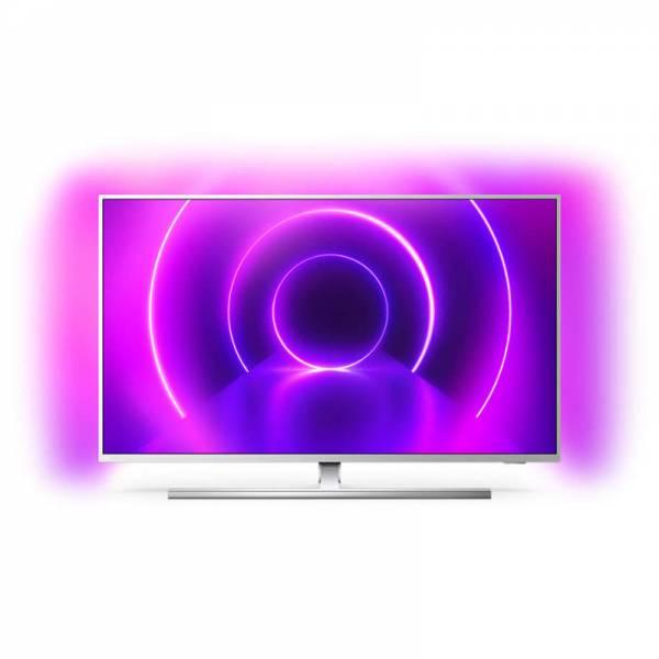 Philips Fernseher Front Bild mit Apps Silber (43PUS8555)