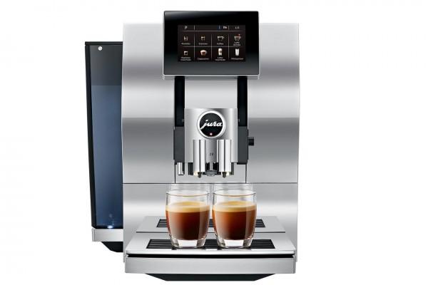 Z8 Aluminium Chrom Modell 2018 (Kaffeevollautomat)
