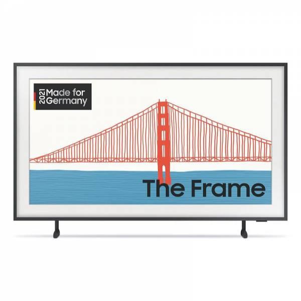 Samsung Fernseher Schwarz Front (GQ75LS03AAUXZG)