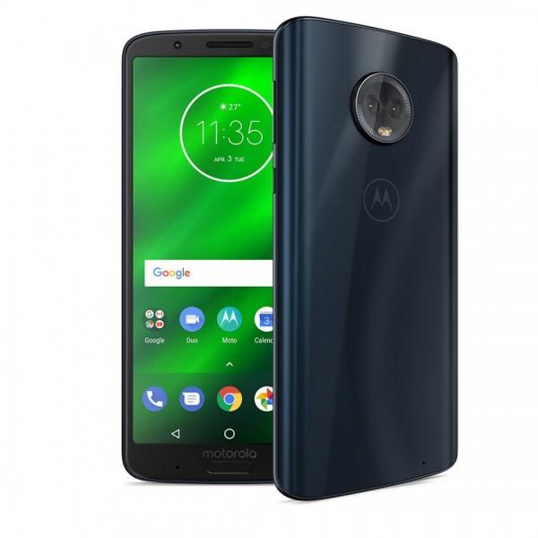 Moto G6 Plus Indigo (Smartphone, Dual SIM)
