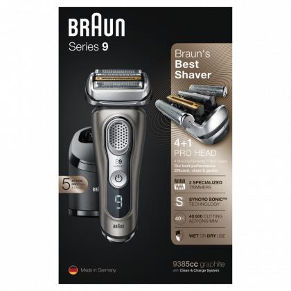 Braun Series 9-9385CC Herrenresierer