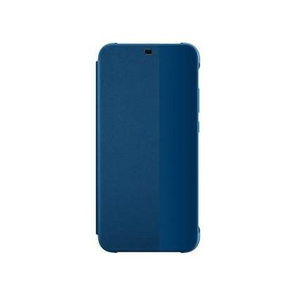 Smart View Flip Cover für P20 lite blau
