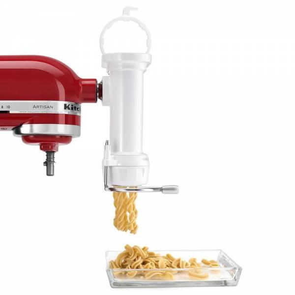 KitchenAid 5KSMPEXTA Gourmet Roehrennudelvorsatz front