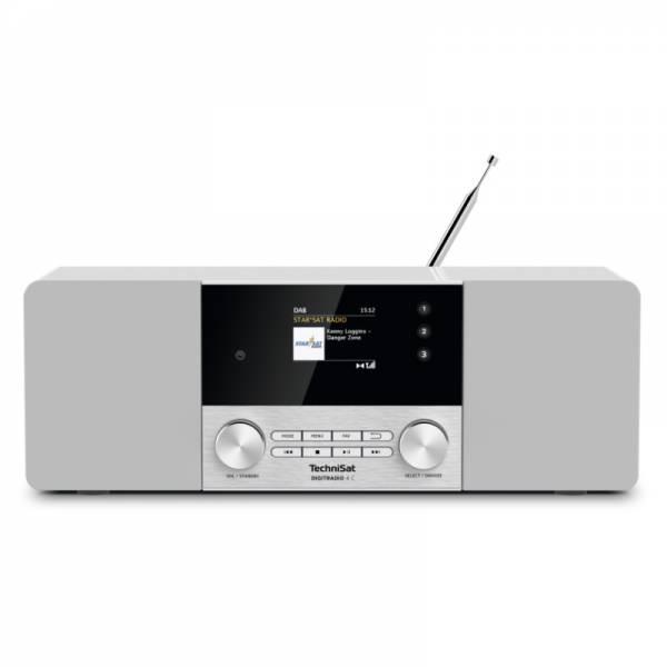 Technisat DAB+/UKW Radio Front Weiß (Digitradio 4C)