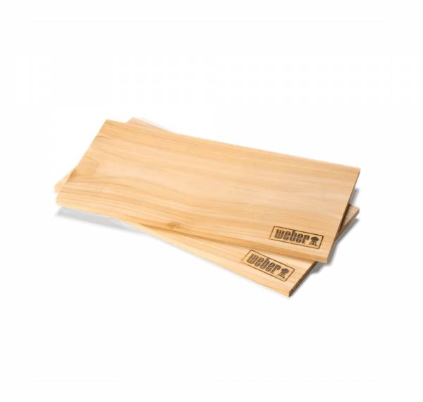 Weber raeucherbretter Zedernholz groß 17831