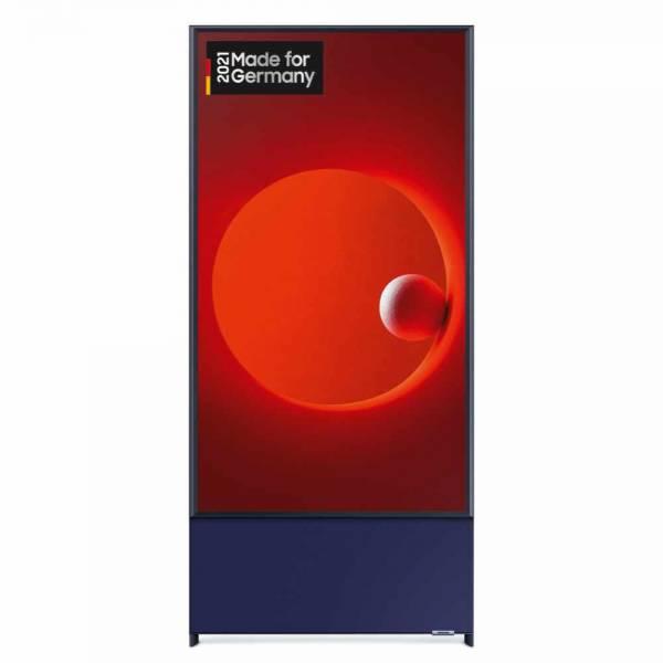 Samsung GQ43LS05TCUXZG QLED TV front hochkant