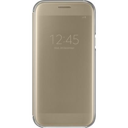 EF-ZA520 Clear View Cover für Galaxy A5 (2017) gold