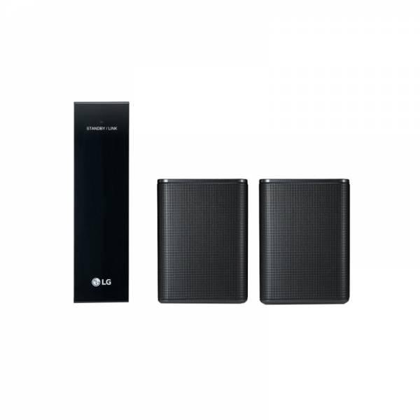 LG Rücklautsprecher Schwarz Set Front (SPK8)