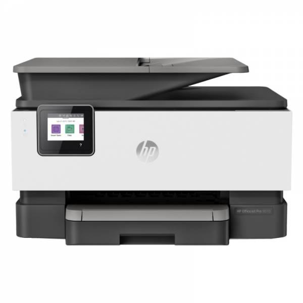 HP Multifunktionsdrucker weiß/schwarz Front (OfficeJet Pro 9012)