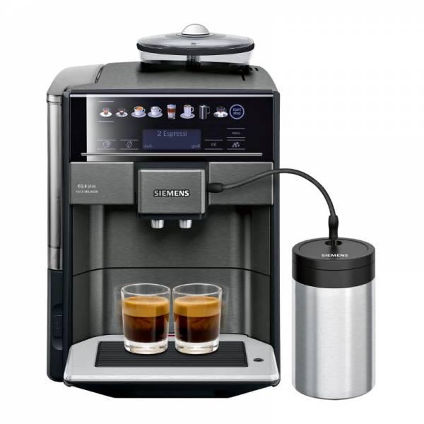 Siemens Kaffeevollautomat Front Schwarz (TE657F09DE)