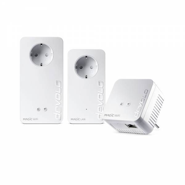 DEVOLO Magic 1200+ WiFi Multiroom Kit Powerline