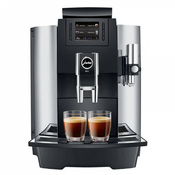Jura Kaffeevollautomat Chrom Front (WE8)