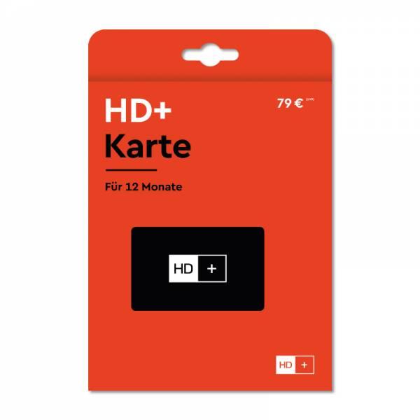 HD+ Karte 12 Monate Front