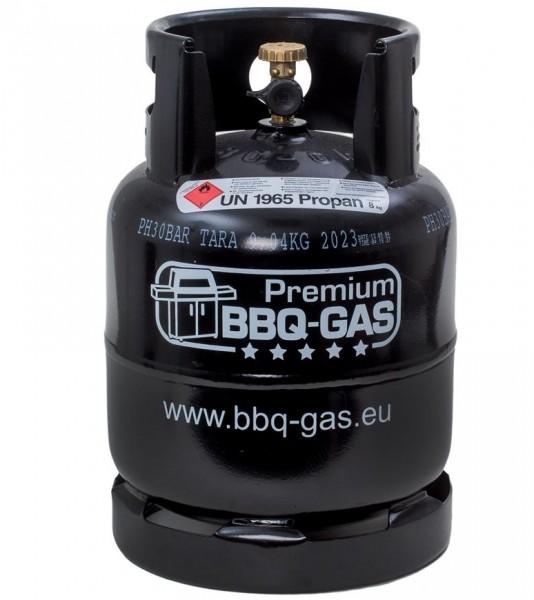 Premium BBQ-Gasflasche 8kg - befüllt