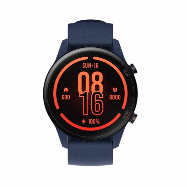 Mi Watch Navy blue Smartwatch front