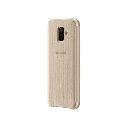 EF-WA600 Wallet Cover für Galaxy A6 gold
