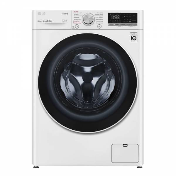 LG V5WD906 Waschtrokner Front