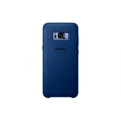 EF-XG955 Alcantara-Cover Galaxy S8+ blau