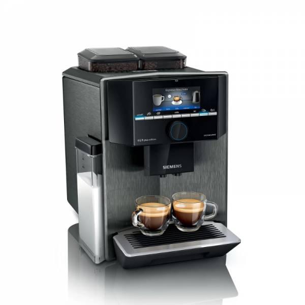 Siemens Kaffeevollautomat Schwarz Front (TI957FX5DE)