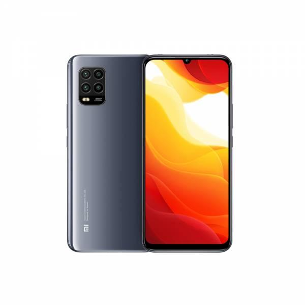 Xiaomi Smartphone Cosmic Grey Front und Rückseite (Mi 10 Lite)