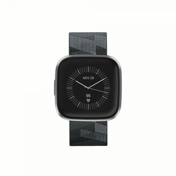 Fitbit Versa 2 SE  Smartwatch Front Grau