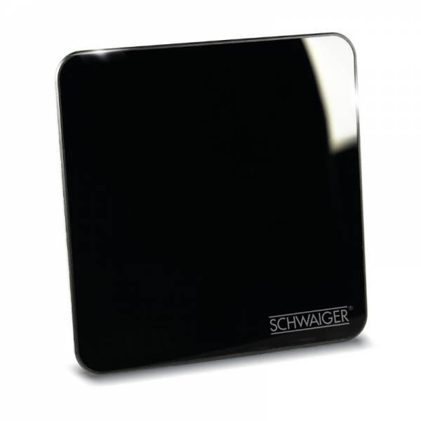 Schwaiger DVB-T2 Zimmerantenne Front Schwarz (ZA8970)