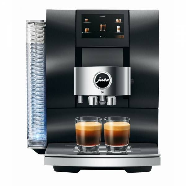 Jura Z10 Signature Line Aluminium Dark Inox Kaffeevollautomat Front