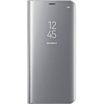 EF-ZG955 Flip Cover Galaxy S8+ silber
