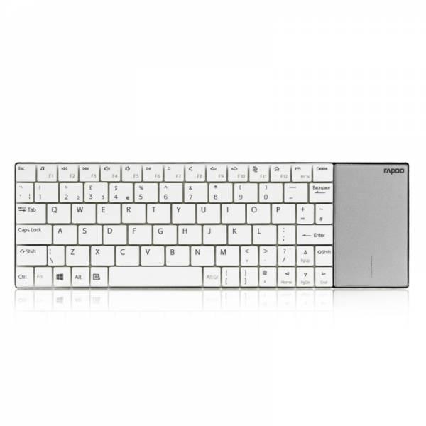 Rapoo Kabellose Tastatur Weiß (E2710)