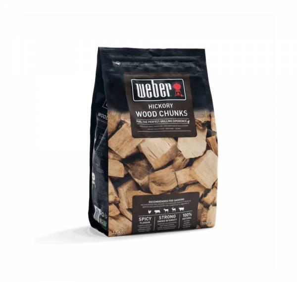 Weber Wood Chunks Hickory 1,5 kg 17619