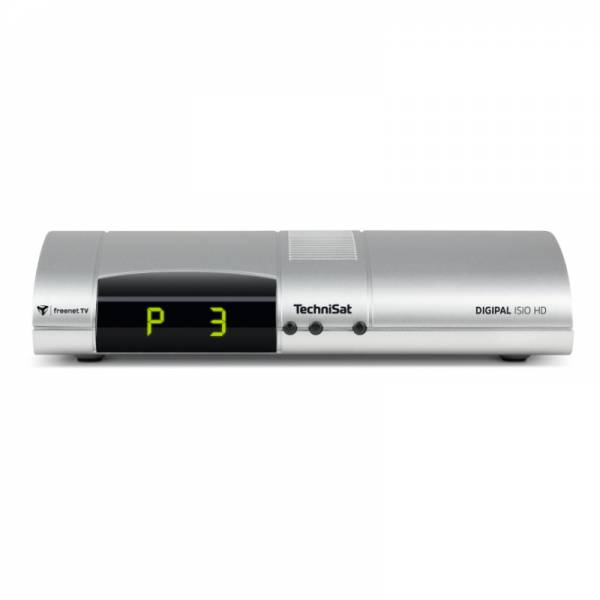 Technisat DVB-T2 Receiver Front Silber (DigiPal ISIO HD)