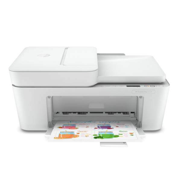 HP Multifunktionsdrucker weiß Front (DeskJet Plus 4120)