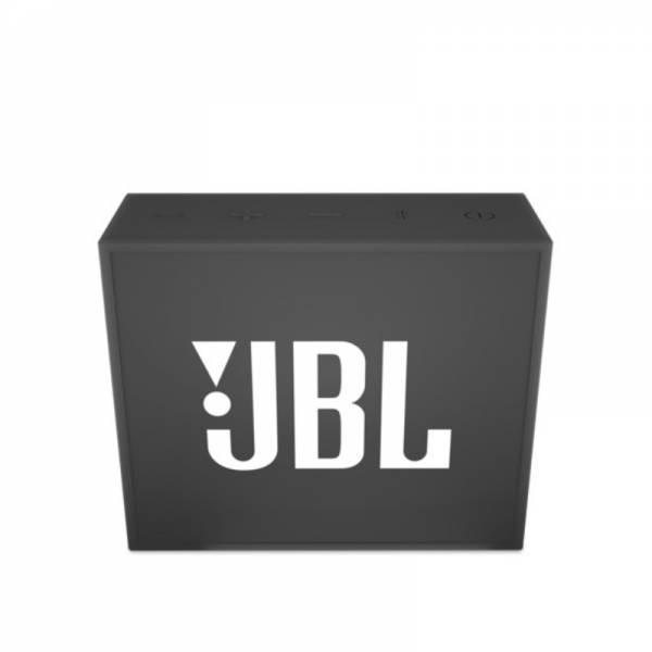JBL Bluetooth Lautsprecher Schwarz Front (GO)