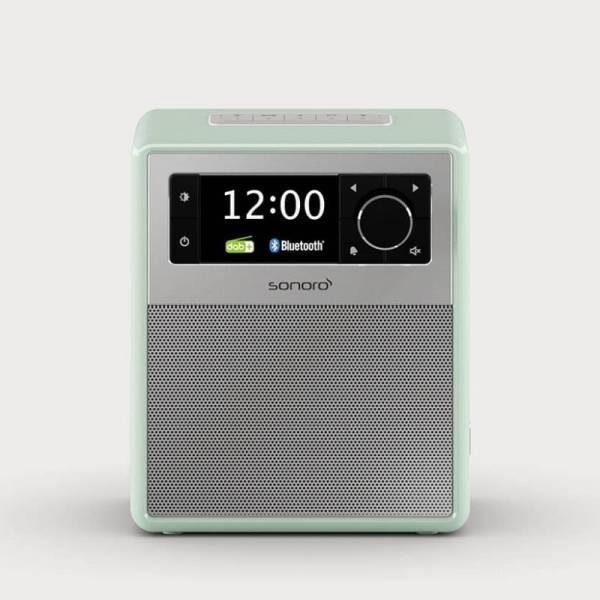 Sonoro Musiksystem Pastellgrün Front (Easy)