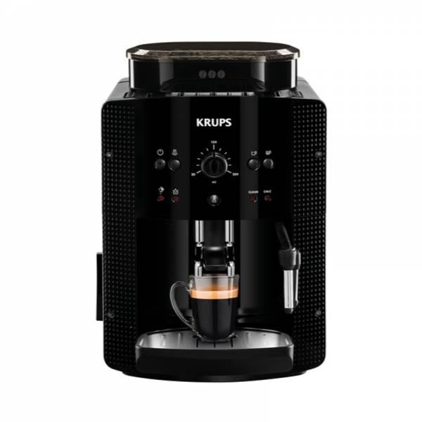 Krups Kaffeevollautomat Schwarz Front (EA81R8)