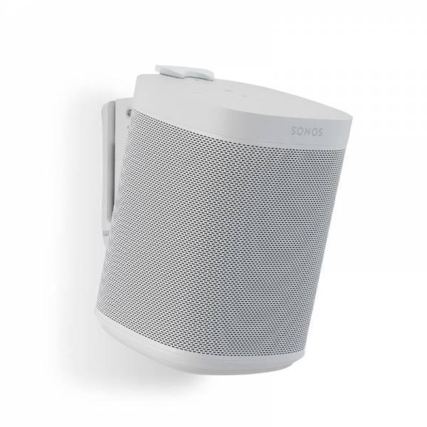 Flexon Lautsprecher Wandhalterung mit Lautsprecher Links Weiß (FLXS1WM1011)