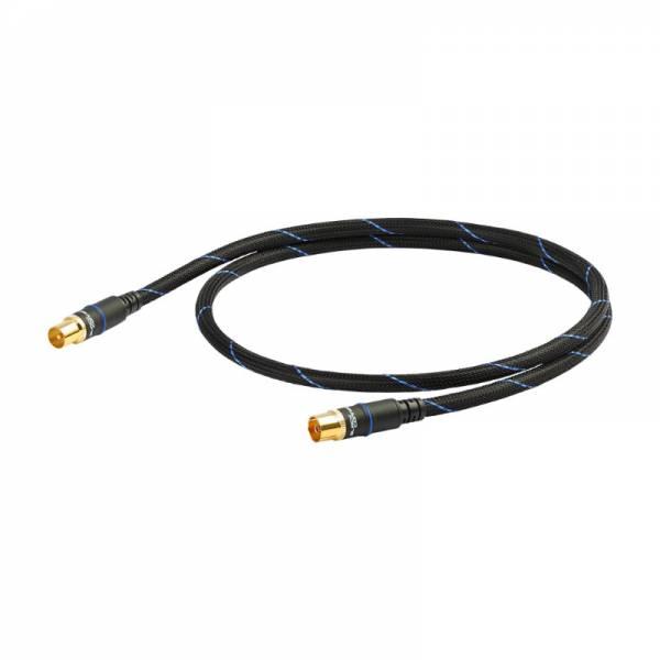 Black Connect Antennen-Kabel Schwarz (ANTENNE MKII)