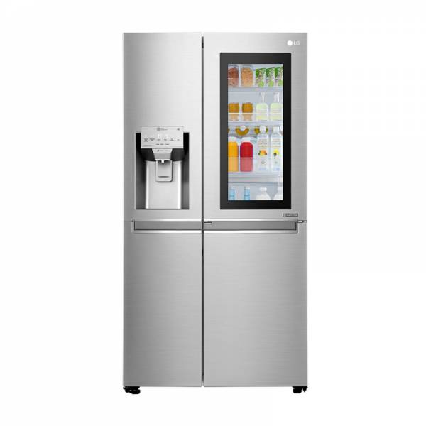 LG Side-by-Side Kühlschrank Front Geschlossen Edelstahl (GSX961NEVZ)